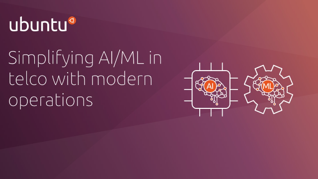 Simplifying AI/ML adoption in telco with modern operations practices