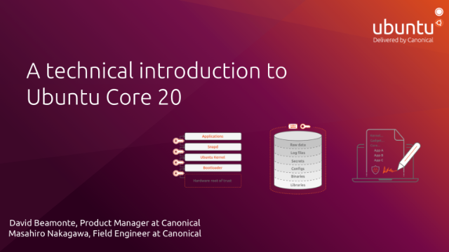 A technical introduction to Ubuntu Core 20