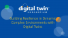 Building Resilience in Dynamic Complex Environments with Digital Twins