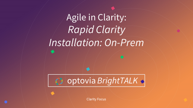 Clarity Innovation: Rapid Installation