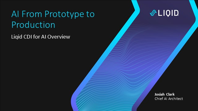 Streamline AI from Prototype to Production