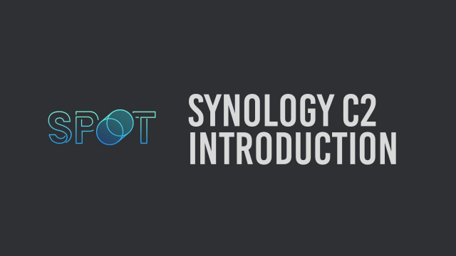 Synology C2 Introduction