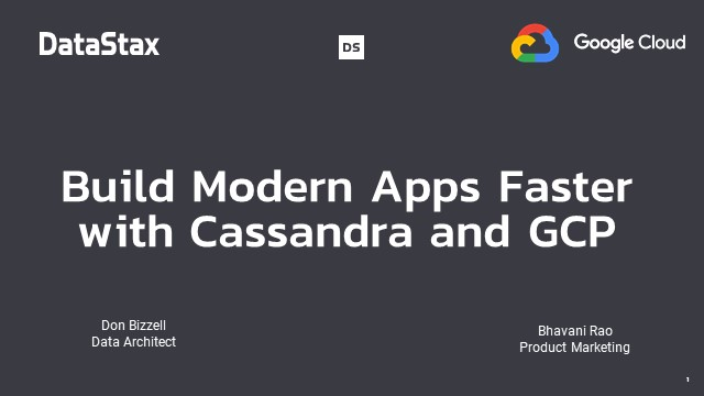 How to Build Modern Apps Faster with GCP
