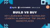 [Build vs. Buy] Learnings from Americas' Tech Leaders of Top Online Marketplaces