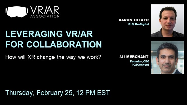 Leveraging VR/AR for Collaboration