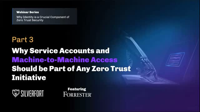 Why Service Accounts Should be Part of Any Zero Trust Initiative (EMEA/APAC)