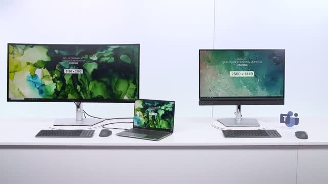 Virtual Mobility Lounge: Dell Collaboration Display Updates
