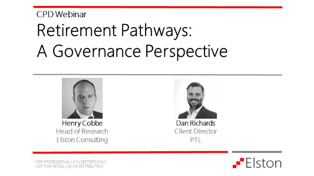 CPD: Building retirement pathways: a governance perspective