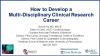 How to Develop a Multi-disciplinary Clinical Research Career
