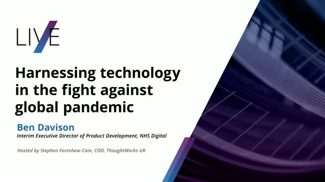 Harnessing technology in the fight against global pandemic