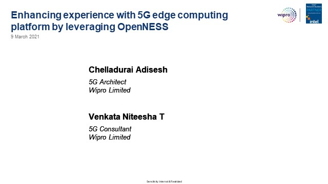Enhancing experience with 5G edge computing platform by leveraging OpenNESS