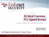 20 Most Common PCI Speed Bumps