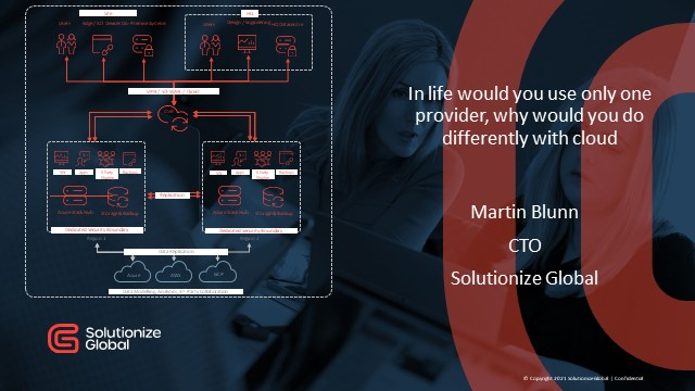 In life would you use only one provider, why would you do differently with cloud