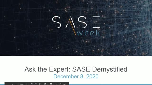 Ask The Expert: SASE Demystified