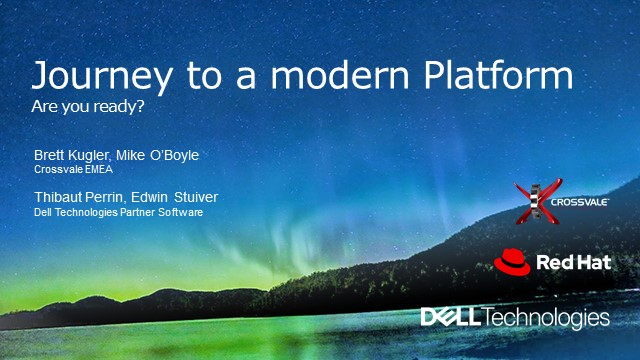 The Journey to a Modern Platform - Are you ready?