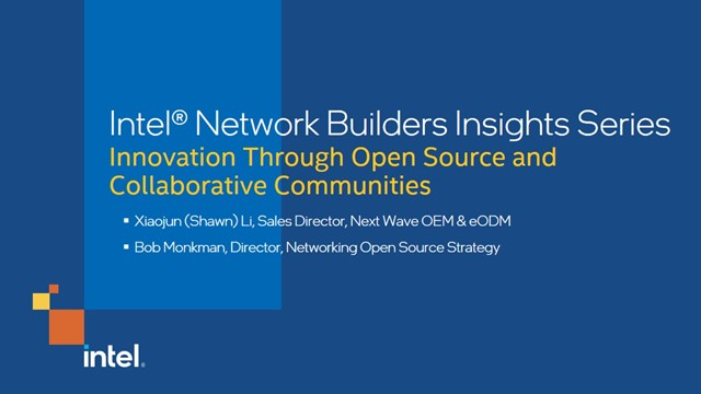 Innovation Through Open Source and Collaborative Communities
