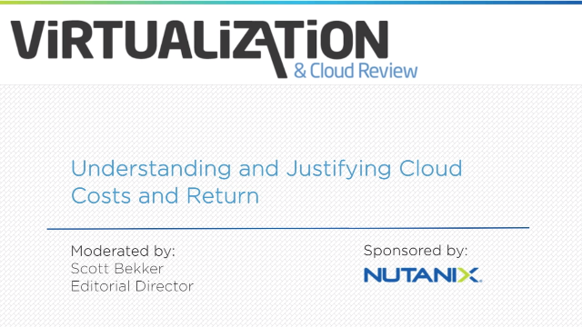 Understanding & Justifying Cloud Costs & Return