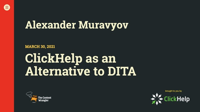 ClickHelp as an Alternative to the Darwin Information Typing Architecture (DITA)