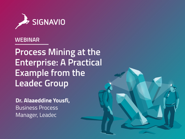 Process Mining at the Enterprise: A Practical Example from the Leadec Group