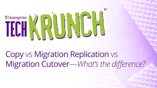 TechKrunch: Data Migration or Data Tiering/Archiving