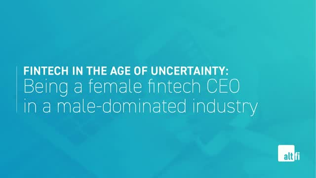 Being a female fintech CEO in a male-dominated industry