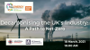 Decarbonising UK's industry: A path to Net-Zero