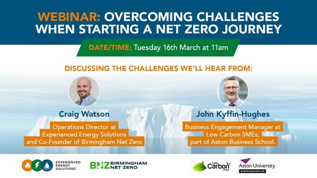 Overcoming the initial challenges of starting a Net Zero Journey