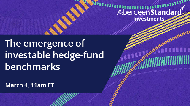 The emergence of investable hedge-fund benchmarks