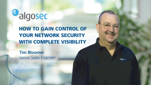 How to Gain Control of Your Network Security with Complete Visibility