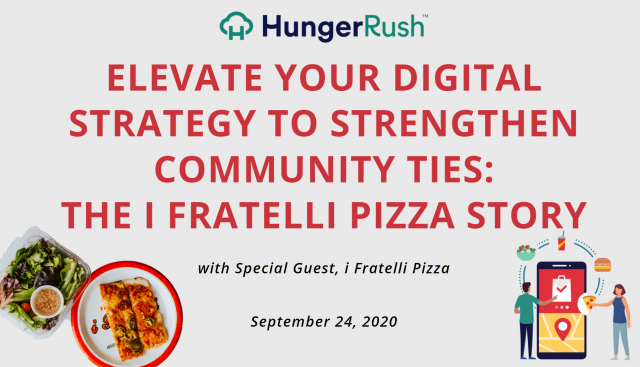 Elevate Your Digital Strategy to Strengthen Community Ties: The i Fratelli Pizza