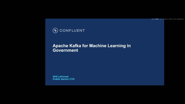 Bringing Industry Machine Learning to Government with Apache Kafka