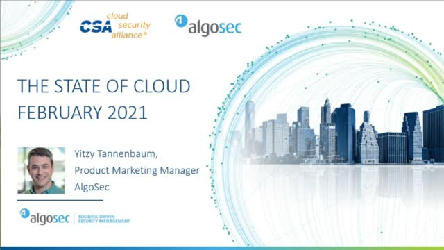 State of Cloud 2021: A CSA Survey Report