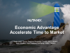 Economic Advantage - Accelerate Time to Market