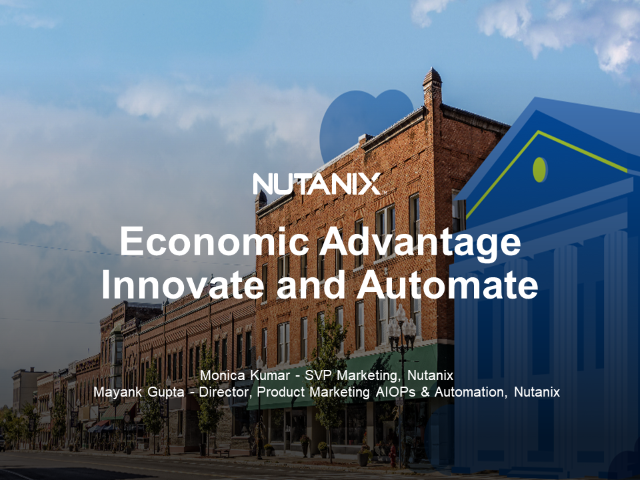 Economic Advantage - Innovate with Automation