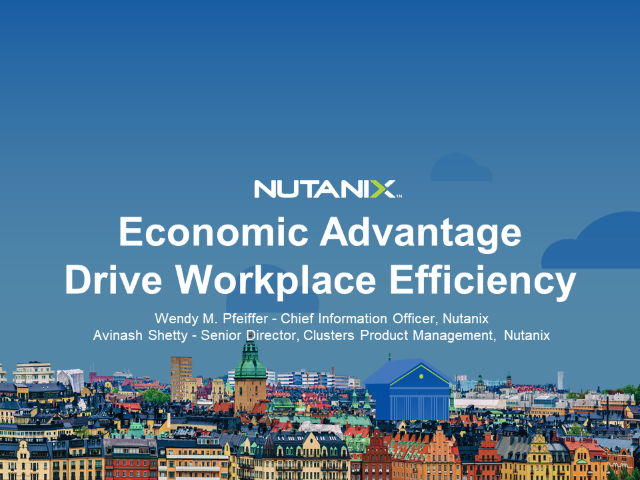 Economic Advantage - Drive Workplace Efficiency