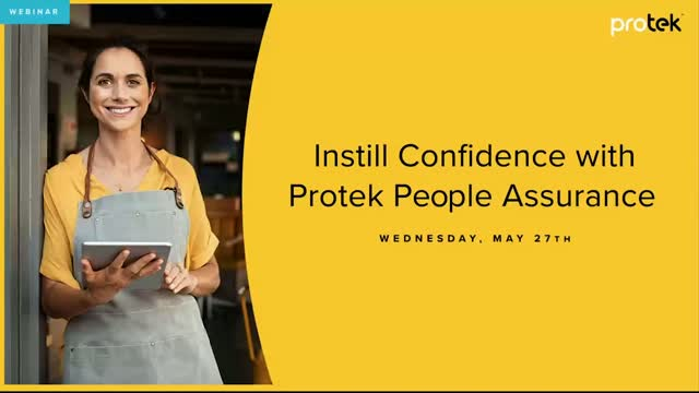 Instill Confidence with Protek People Assurance Health & Safety Training