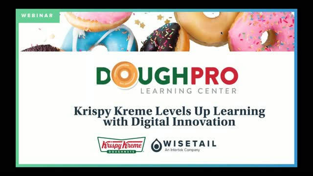 Krispy Kreme Levels Up Learning with Digital Innovation