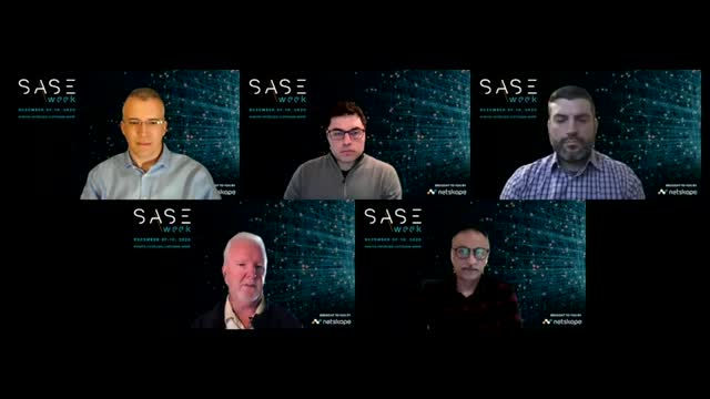 On the Road to SASE: CISO Perspectives