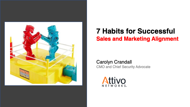 7 Habits for Successful Sales and Marketing Alignment