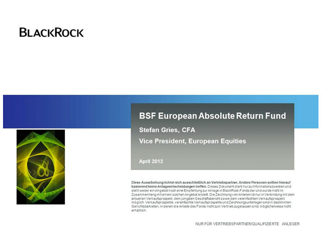 BSF European Absolute Return Fund