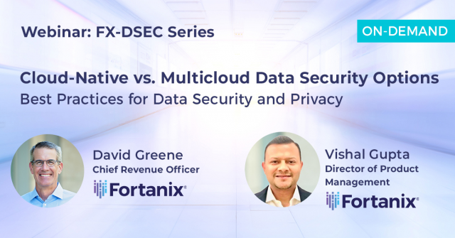 Cloud-Native vs. Multicloud Data Security Option