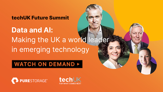 techUK Data and AI panel: Making the UK a world leader in emerging technology