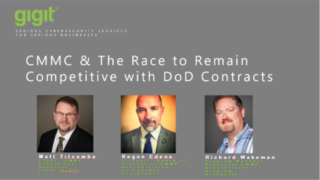 CMMC & The Race to Remain Competitive with DoD Contracts