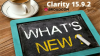 What's New in Clarity 15.9.2?