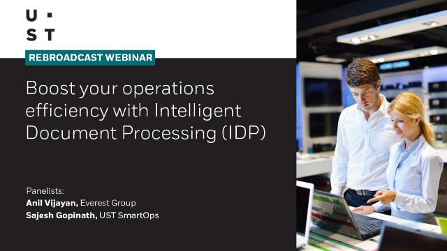 Boost your operations efficiency with Intelligent Document Processing (IDP)