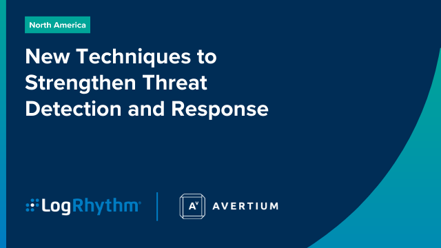 New Techniques to Strengthen Threat Detection