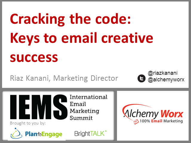 Cracking the Code: Keys to Email Creative Success
