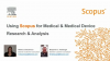 Using Scopus for Medical & Medical Device Research & Analysis