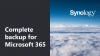 Complete backup for Microsoft 365 | Synology Solutions
