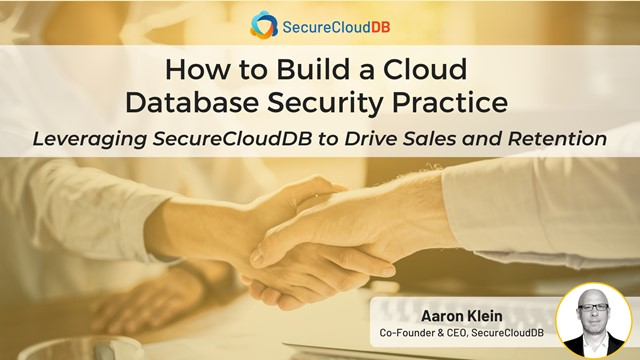 How to Build a Cloud Database Security Practice